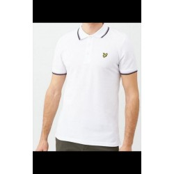 Lyle & Scott Polo White