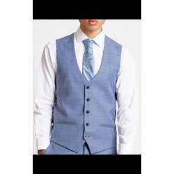 Marc Darcy  Waistcoat  Blue/Grey