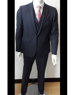 White Label Charcoal Grey Suit