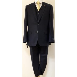 Magee 3 piece Navy Suit