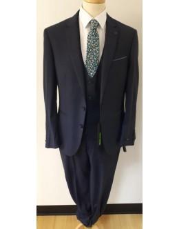 Remus Luca Navy Slim Suit