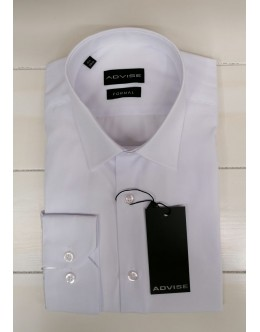 Advise Tapered Fit Formal Shirt-White