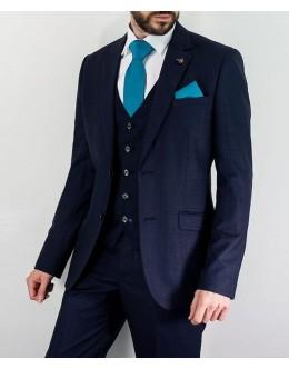 Cavani Seeba 3 Piece Suit-Navy