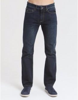 Diesel Clark Dexter Bootcut Jeans-Dark Blue