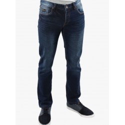 Diesel Holden Austin Fit Tapered Jeans-Blue Wash