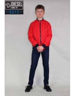 Diesel Kids Linton Jacket-Red