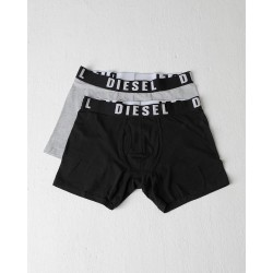 Diesel Boxer Shorts-Black/Pebble