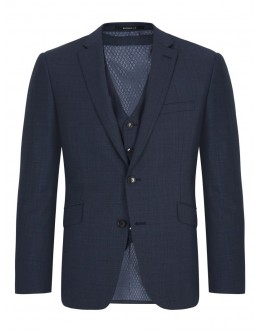 Douglas Blue  2 Piece Mix and Match Suit