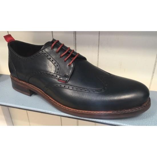 Gordon Bros Levet Shoe-Navy