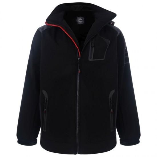 KAM Softshell Jacket-Black