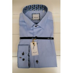 Marnelli Casual Shirt-Blue