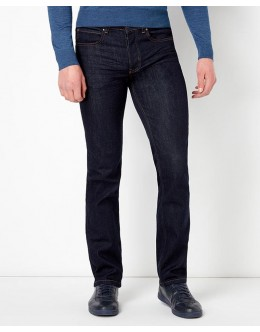 Remus Straight Fit Navy Rinse Washed Jeans