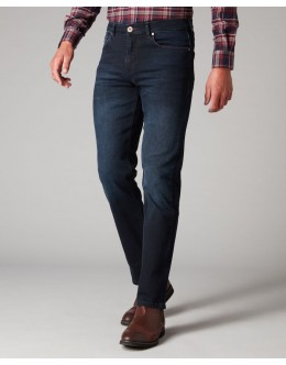 Remus Rolston Straight Jean-Dark Blue
