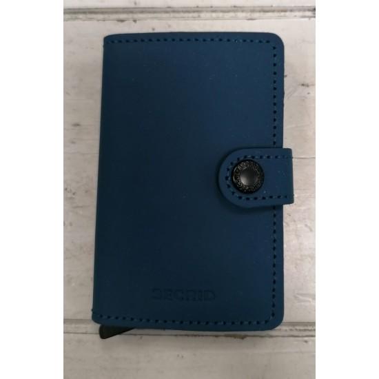 Secrid Blue Wallet