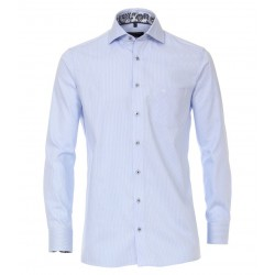 Casa Moda Shirt Striped Shirt-Blue