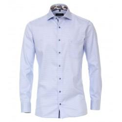 Casa Moda Light Blue Checked Shirt