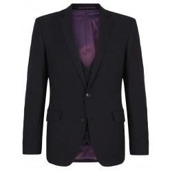 Daniel Grahame Black Pattern Suit-Dale