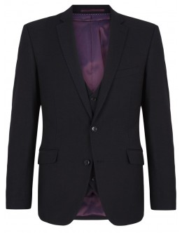 Daniel Grahame Black Pattern Suit-Dale