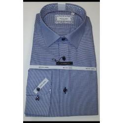 White Label Blue Check Shirt