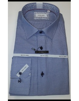 White Label Blue Check Shirt