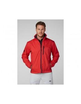 Helly Hansen Crew Midlayer Jacket-Red