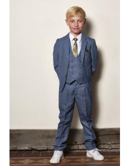 Marc Darcy Kids George Suit-Sky
