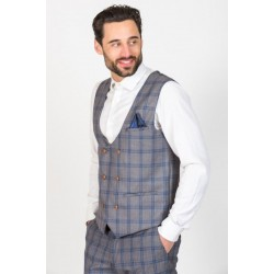 Marc Darcy Logan Double Breasted Waistcoat
