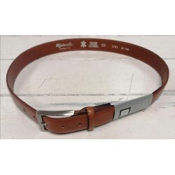 Michaelis Tan Leather Belt