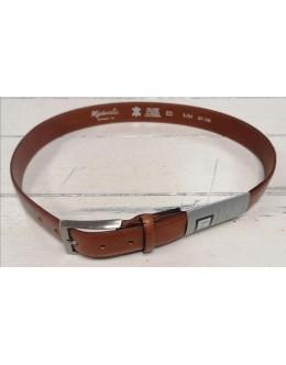 Michaelis Tan Leather Belt