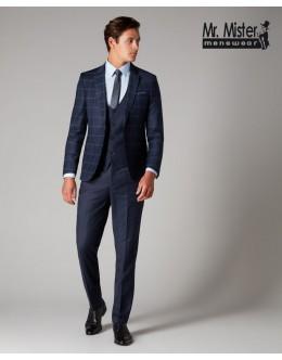Remus Contrast Slim Fit Suit