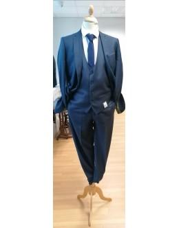 Remus Contrast Slim Suit