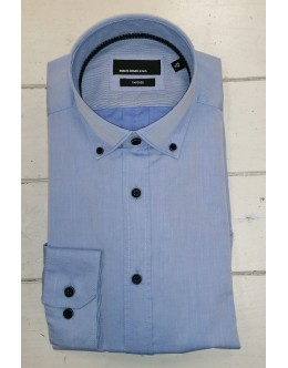 Remus Parker Tapered Fit Shirt-Button Down Collar