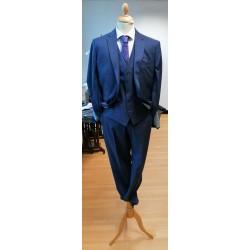 Scott Navy 3Pc Suit