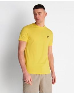 Lyle and Scott T-Shirt-Buttercup Yellow