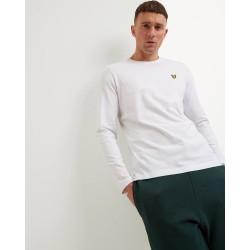 Lyle and Scott Long Sleeve T-Shirt-White