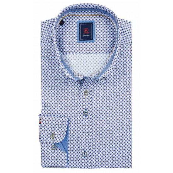 Andre Patterned Shirt-Slaney