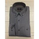 Casa Moda Brown Check Shirt-472855400/700