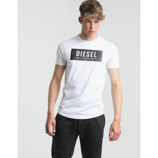 Diesel Gunner T-Shirt-Optic White
