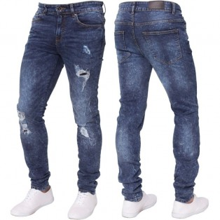 Enzo Super Stretch Skinny Jeans