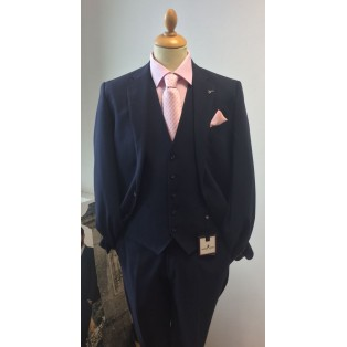Herbie Frogg Mayfair Navy Check Suit