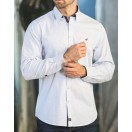 Outrage Elroy Shirt-Optic White/Navy