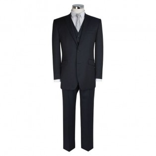 "Scott By The Label ""Ink"" 3 Piece Wool Suit"