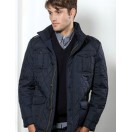 Vedoneire Quilted Jacket Navy