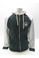 Diesel Hoodie Style Nelson Zipper Colour Sycamore 60% Cotton