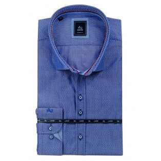 Andre Brody Casual Shirt-Blue