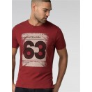 Ben Sherman Vinyl T-Shirt-Red