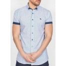 Bewley and Ritch Short Sleeve Shirt-Sun
