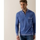 Bugatti Half ZIp Marine Troyer Knit Jumper