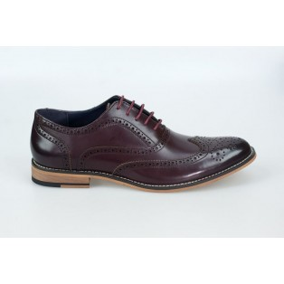 Cavani Oxford Wine Shoe