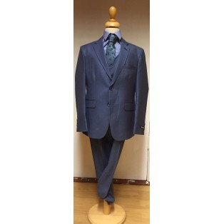 De Rossi Boys Suit-Blue
